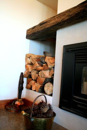 Detail - fire place