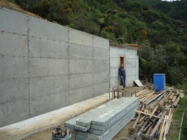 Dome Foundation & Retaining Wall (15.06.2013)