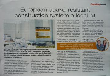 metrolpo CanterburyRebuild magazine - Issue 40/December 2014 Article