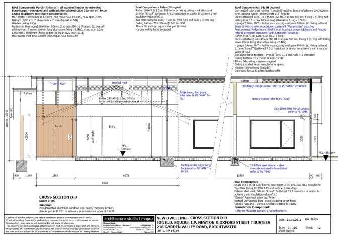 216GardenValleyRd-PLANS Cross Section
